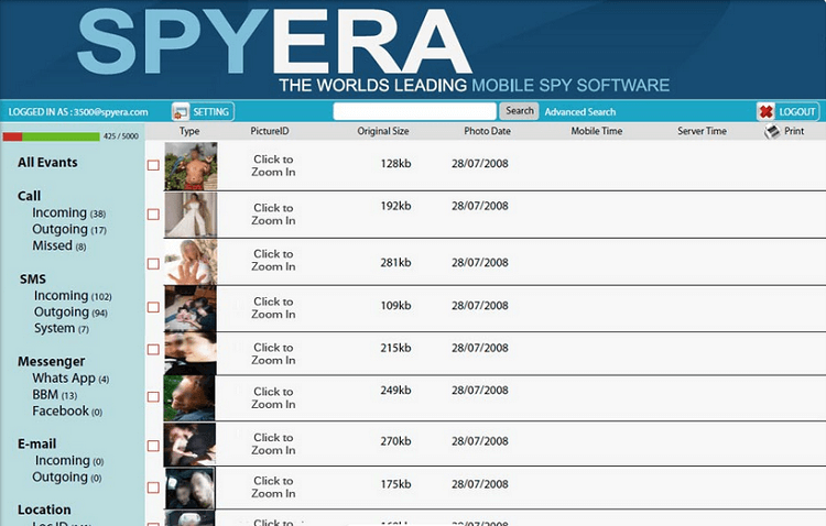 spyera app