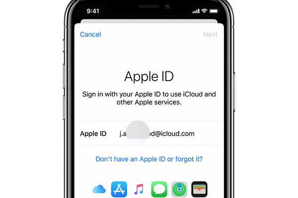 monitor iphone with apple id